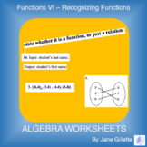 Recognizing Functions vs Relations