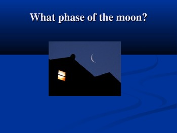 Recognizing Moon Phases of the Lunar Cycle