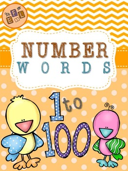 Recognizing Number Words 1-100