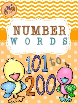 Recognizing Number Words 101-200