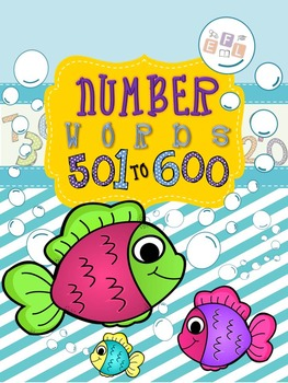 Recognizing Number Words 501-600