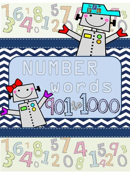 Recognizing Number Words 901-1000