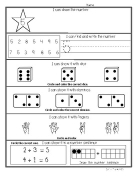 Recognizing Numbers 1 - 20 Many Ways
