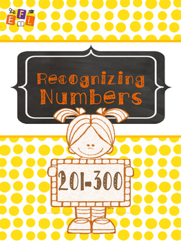 Recognizing Numbers 201-300