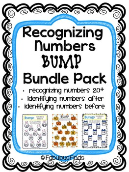 Recognizing Numbers Bundle Pack- BUMP