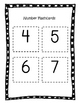 Recognizing Numerals 0-10: Flashcards, Assessment and Data Sheet