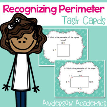 Recognizing Perimeter Task Cards {3.MD.8}