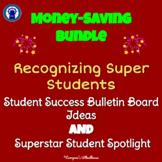 Recognizing Super Students Bulletin Board Tools Bundle