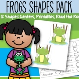 Frogs and Shapes Pack - Centers, Printables, Read the Room