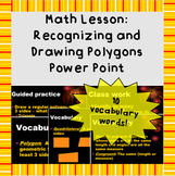 Recognizing and drawing polygons - Power Point