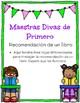 Book Recomendation (Recomendacion de un libro) (diferenciado) Spanish