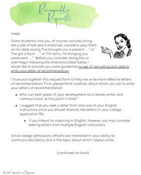 Letter Of Recommendation Student Teacher from ecdn.teacherspayteachers.com