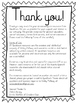 Recommendation Letter Think Sheet