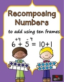 Recomposing Numbers To Add Using the Make A 10 Strategy