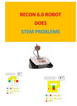 Recon 6.0 Robot Does STEM Problems