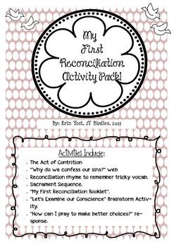 Reconciliation Activity Pack