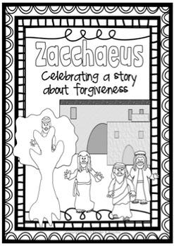 Reconciliation Bundle ~ Lap Flip Book, Zacchaeus, Sacrament of Forgiveness