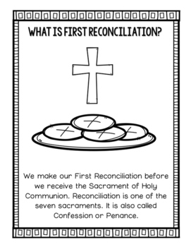 Reconciliation Confession Activities By Countless Smart