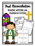 Reconciliation Confession Activities | Distance Learning