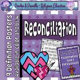 Reconciliation Posters ~ Sacrament of Confession ~ Sin ~ Forgiveness