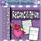 Reconciliation Worksheets ~ Sacrament of Confession ~ Sin ~ Forgiveness