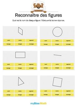 Reconnaître des figures 1 -Retrouver le nom de figures planes