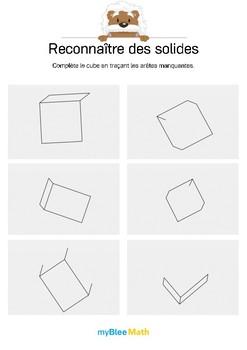 Reconnaître des solides 3 -Tracer les segments manquants