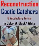 Civil War Reconstruction Era Activity (Cootie Catcher Review Foldable)