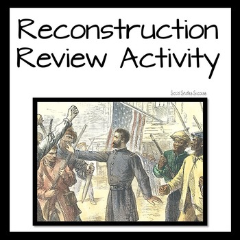 Reconstruction Review Activity