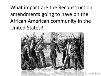 Reconstruction - Modified for ELL or 5th Grade