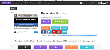 Reconstruction - APUSH & US History EOC