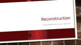 Reconstruction; 5th Grade Social Studies DBQs