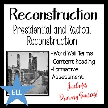 Reconstruction Activity on Presidential and Radical Reconstruction