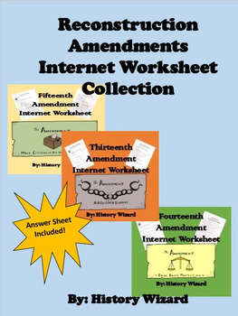 reconstruction lesson 1 13 14 15 13th 14th and 15th amendments worksheets - showing all 8 printables worksheets are 13th 14th 15th amendments, lesson title teacher, amendment organizer reconstruction.