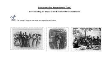 Reconstruction Amendments Bundle: Purpose of / Reaction to 13,14 & 15 amendments