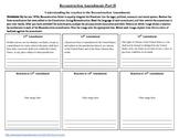 Reconstruction Amendments Part II - Reaction to 13, 14 & 1