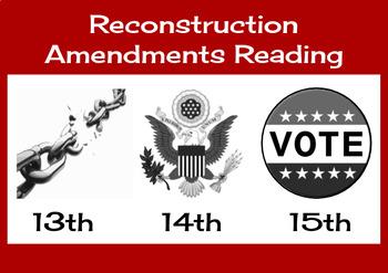 Reconstruction Amendments Reading