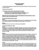 Reconstruction Amendments: Short Writing Activity