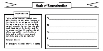 Reconstruction Amendments, Southern Resistance, Common Core