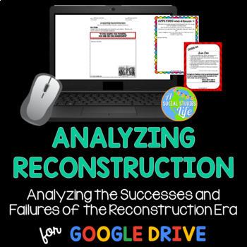 Reconstruction - Analyzing Reconstruction Museum Walk