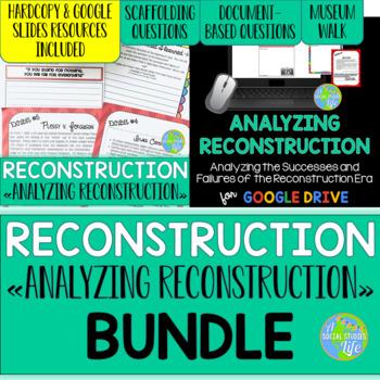 Reconstruction - Analyzing Reconstruction Museum Walk BUNDLE