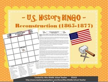 Reconstruction BINGO (1865-1877)