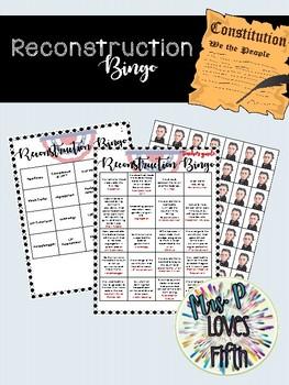 Reconstruction Bingo
