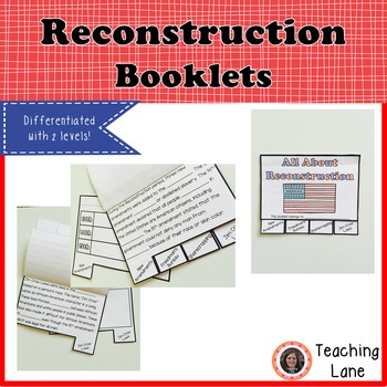 Reconstruction Booklet - Differentiated