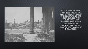 Reconstruction: Civil War