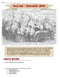 Reconstruction & Civil War Thanksgiving Cartoon Analysis