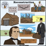 Reconstruction of the South Clip Art