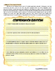 Reconstruction Close Reading and Common Core Worksheet with Answer Key