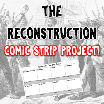 Reconstruction Comic Strip Project