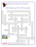 Reconstruction Crossword Puzzle
